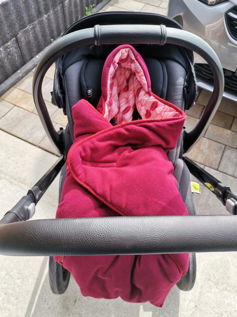 Hobea Einschlagdecke XL Babyschale