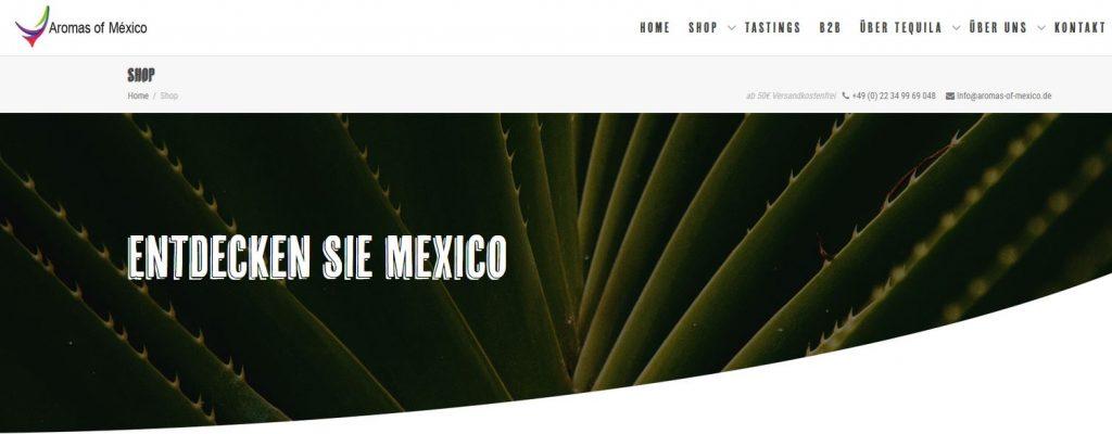 aromas-of-mexico.com der shop