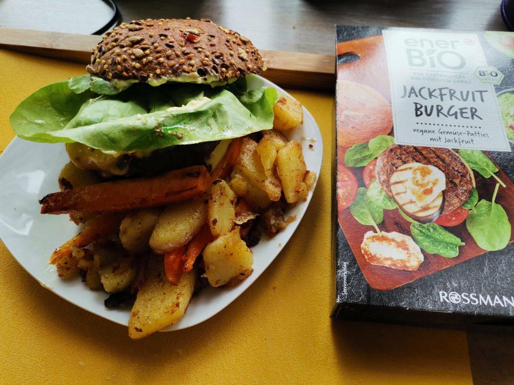 ener Bio Jackfruit Burger vegane Gemüse-Patties