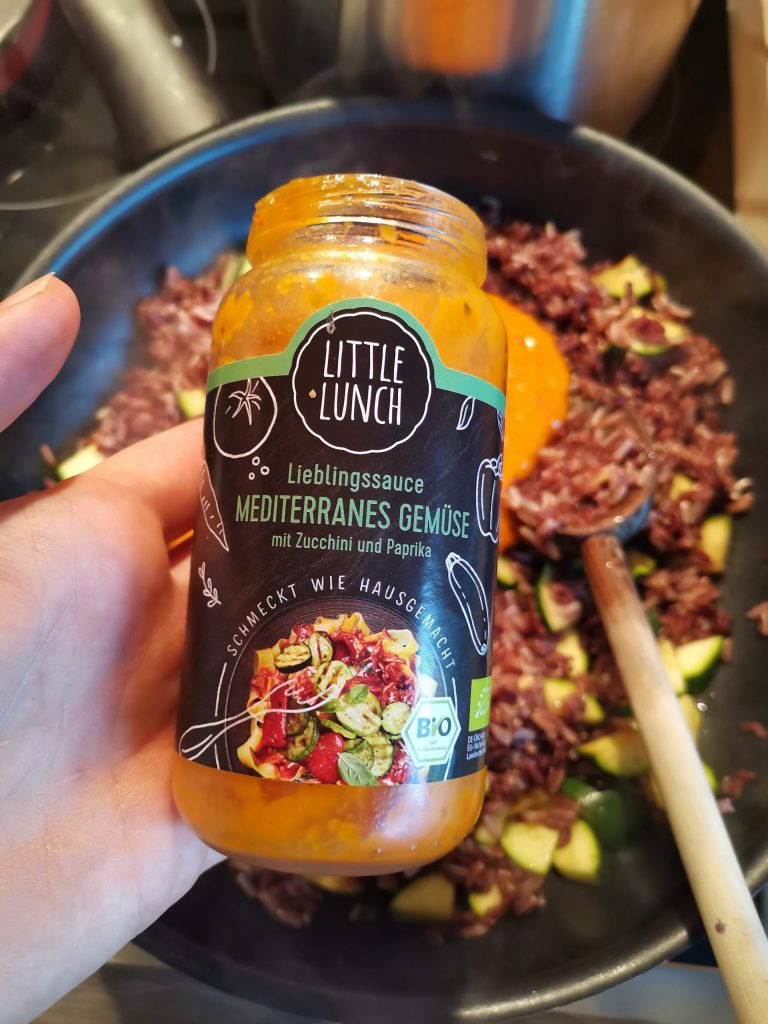 Littlelunch Sauce Mediteranes Gemüse