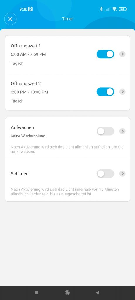 Beleuchtung via App steuern